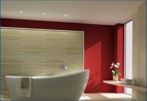 false ceiling in bathroom