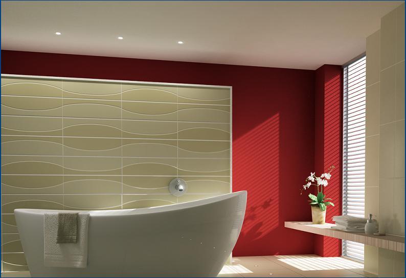 False ceilings for bathrooms