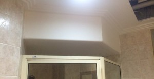 heater within false ceiling